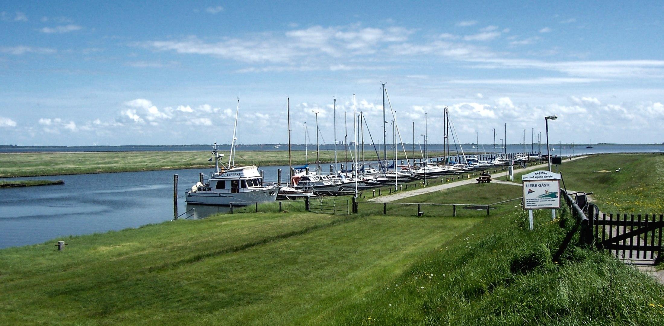 Süderhafen einfach schön, © Nordstrand Tourismus