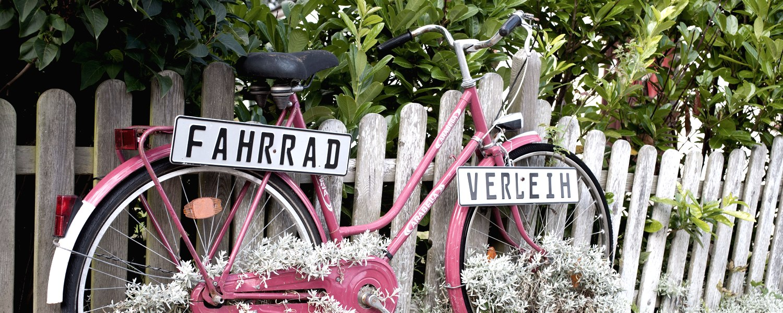 Fahrradverleih, © Nordstrand Tourismus