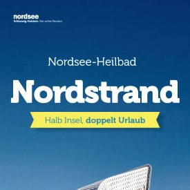 Nordstrand Flyer, © Nordstrand Tourismus