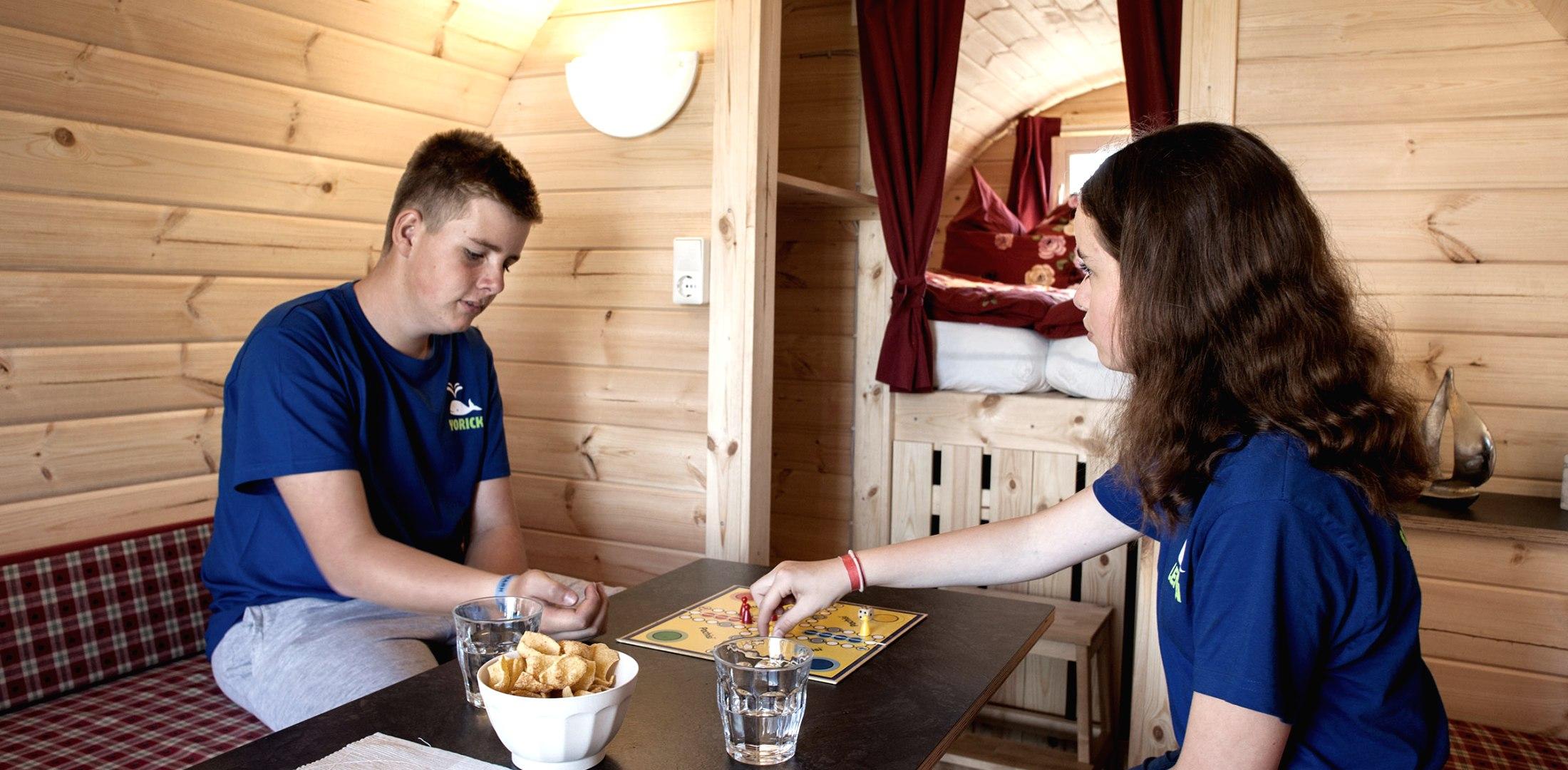 Campingfass innen, © Nordstrand Tourismus