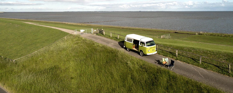 Bulli Luftbild, © Nordstrand Tourismus