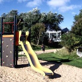 Spielplatz Rutsche, © Nordstrand Tourismus