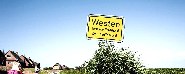 Ort Westen, © Nordstrand Tourismus