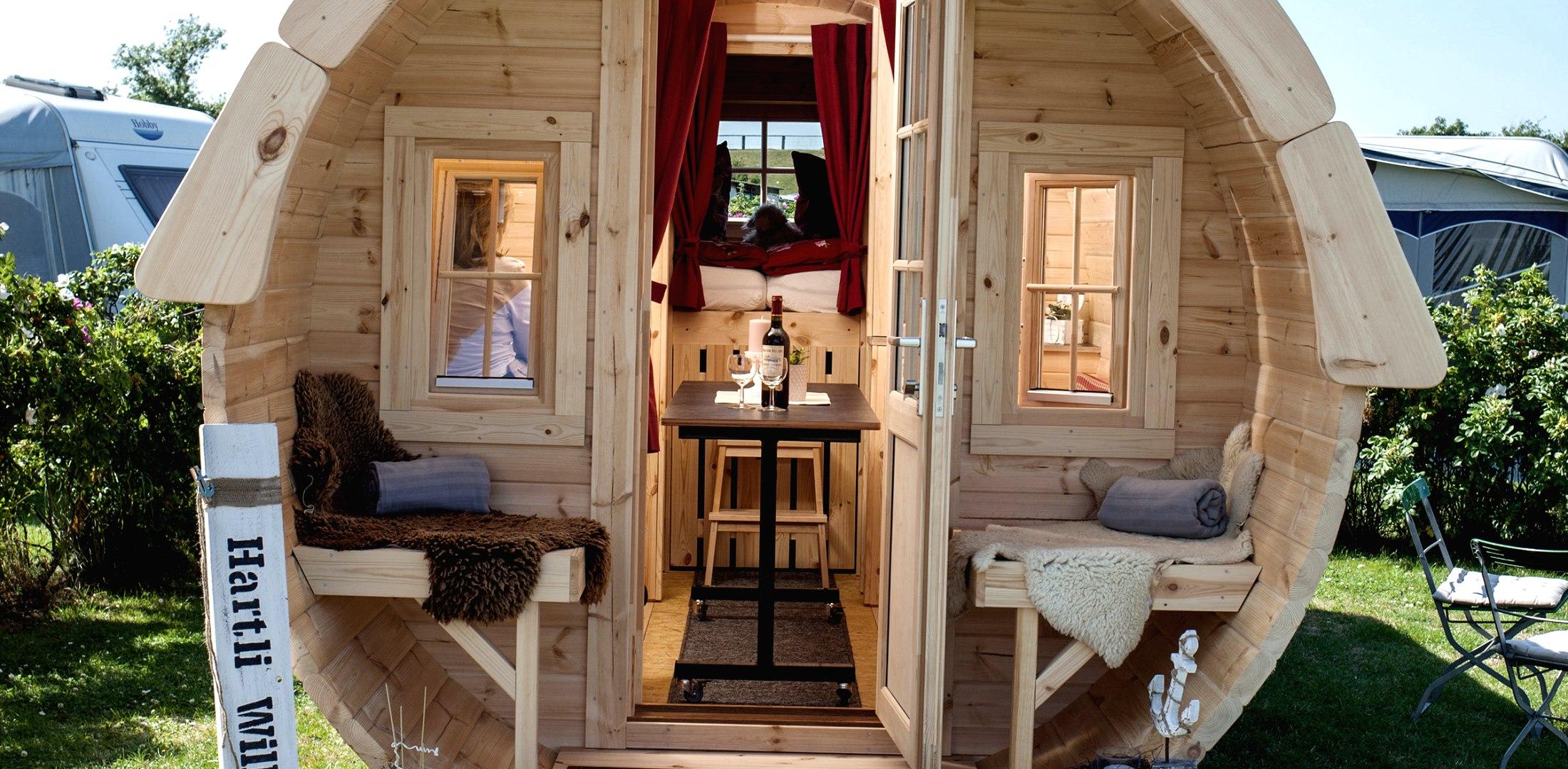 Campingfass vorne, © Nordstrand Tourismus
