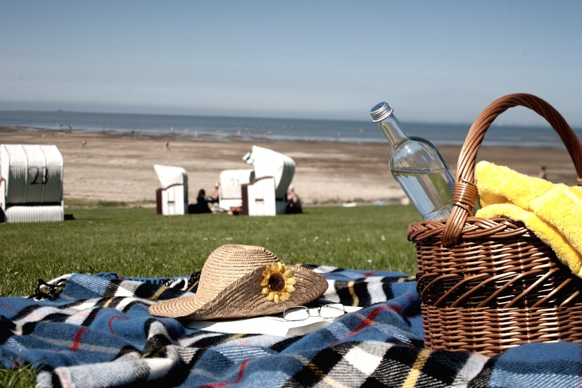am Strand, © Nordstand Tourismus